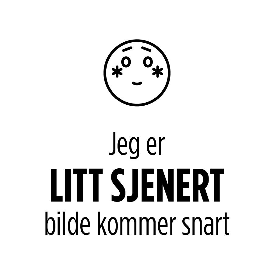 HVIT HALVBLONDE SKÅL 24 CM
