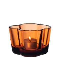 Iittala Aalto Telysholder 60mm Sevilla Orange