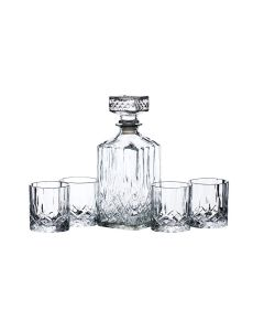 Barcraft Whiskeysett Karaffel 900ml Med 4 Glass