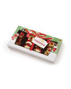 Belgisk Julesjokolade Nisser og Reinsdyr 8pk