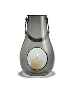 Holmegaard Design With Light Dwl Lanterne Smoke H25