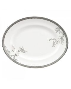 Wedgwood Vera Wang Lace Ovalt Fat 35cm