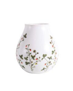 Porsgrunds Porselænsfabrik Jordbæreng Vase 19 cm