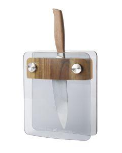 Hadeland Glassverk Knivblokk Glass Hg
