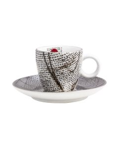 Porsgrunds Porselænsfabrik Rosetta Kopp & Skål Espresso