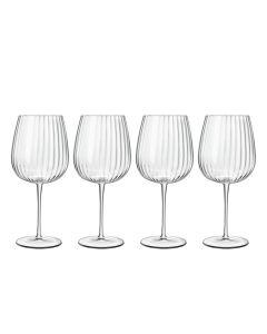 Luigi Bormioli Optica Gin & Tonic Glass Burgundy 75cl 4 stk