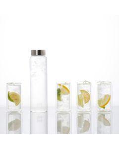 Hadeland Glassverk Kilde Vannsett 5Deler