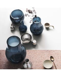 Georg Jensen Cafu Vase Xs 98X148 Stål