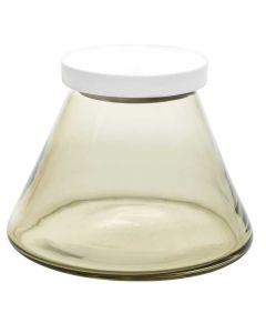 Hadeland Glassverk Vilje 1 Triangel Oliven Grønn