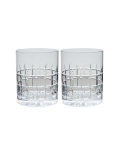 Hadeland Glassverk Kube Whiskyglass 35 cl 2-pk